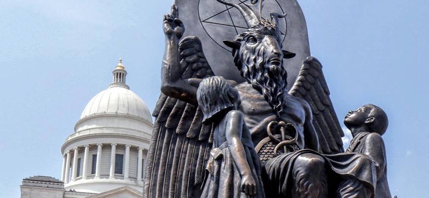 ABD'de Satanist Tapınağı'ndan kürtaj yasağına karşı protesto