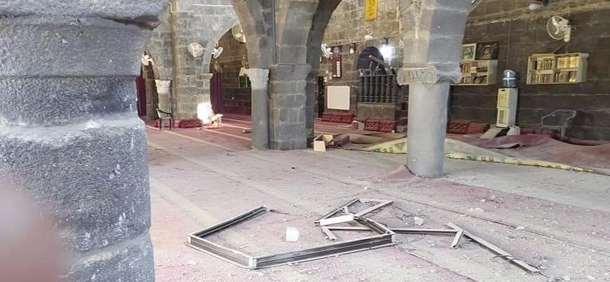Dera: İran destekli Şii milisler Hz. Ömer Camii'ni bombaladı