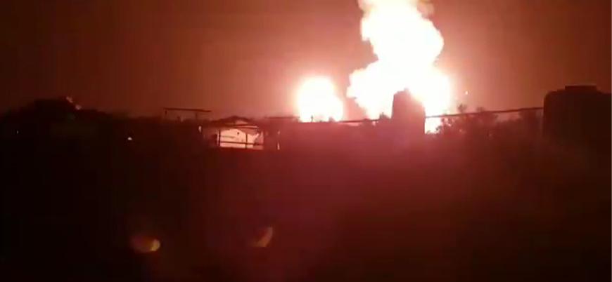 İsrail'den Gazze Şeridi'ne hava saldırıları