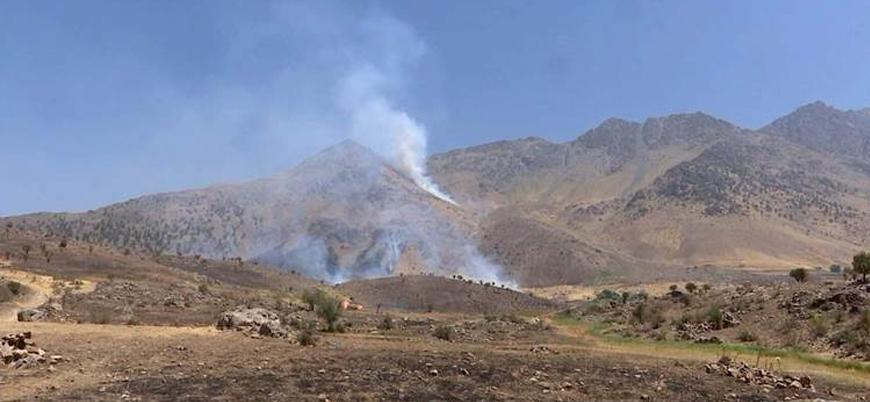 İran'dan Irak Kürt bölgesine bombardıman