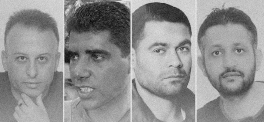 İsrail hapishanesinden tünel kazarak kaçan 4 Filistinli yakalandı