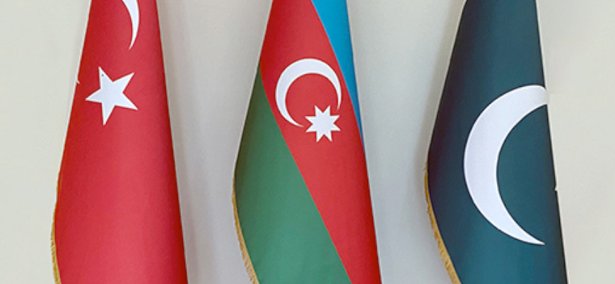 Türkiye, Azerbaycan ve Pakistan'dan ilk ortak tatbikat