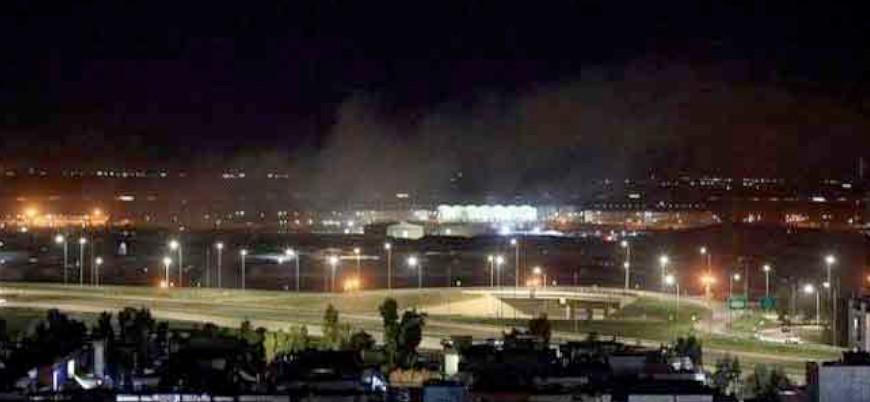 Erbil'de ABD askerlerinin de bulunduğu havaalanına İHA saldırısı