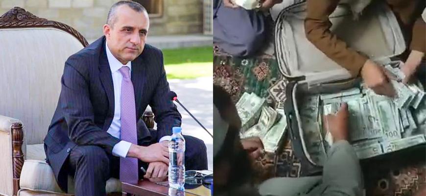 Afganistan: Eski Devlet Başkanı Yardımcısı Emrullah Salih'in evinde 12.4 milyon dolar bulundu