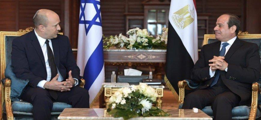 İsrail Başbakanı Bennet, Mısır Cumhurbaşkanı Sisi ile bir araya geldi
