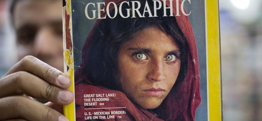 Ünlü 'Afgan Kız' fotoğrafı zorla çekilmiş