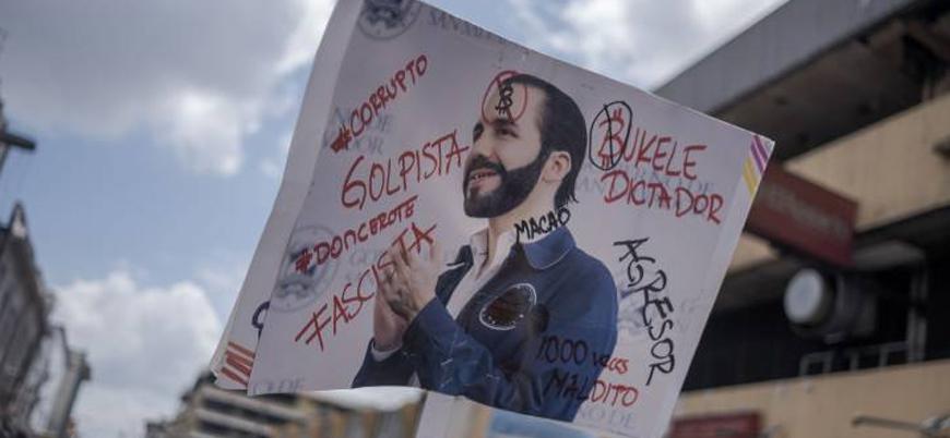 El Salvador'da Bitcoin protestoları