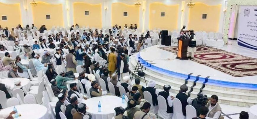 Kandahar'da Afganistan'ın yeni yönetimine destek toplantısı