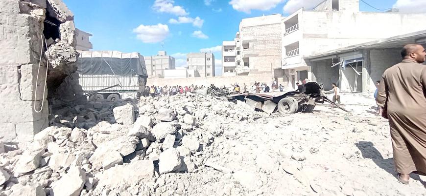 Fırat Kalkanı bölgesi El Bab'da bombalı saldırı