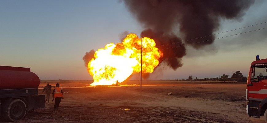 IŞİD'den Suriye'de doğalgaz boru hattına saldırı