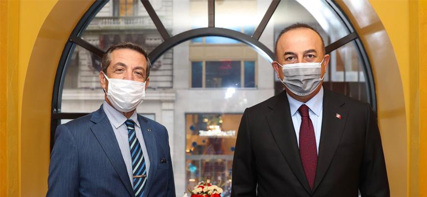 Bakan Çavuşoğlu ile KKTC'li mevkidaşı arasında görüşme