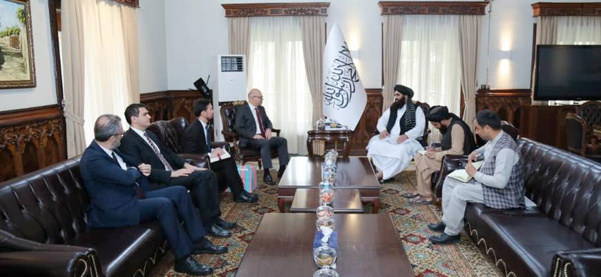 Türkiye'nin Kabil Büyükelçisi 'Afganistan İslam Emirliği' Dışişleri Bakanı ile görüştü