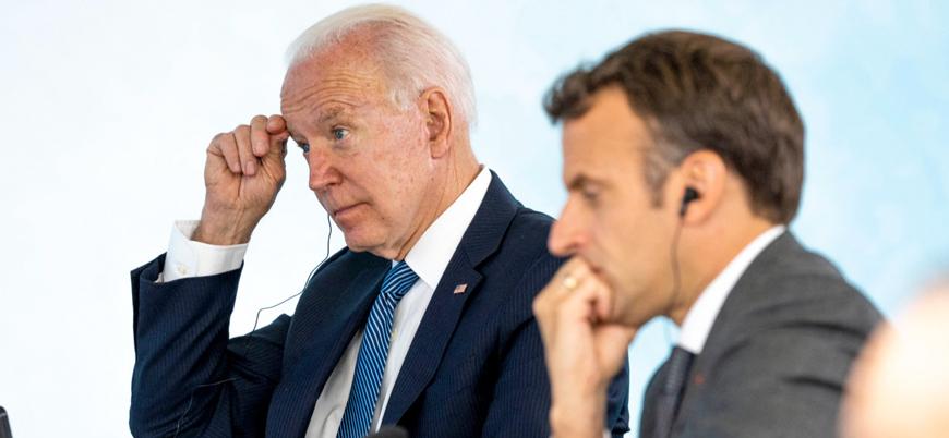 Biden ve Macron 'denizaltı krizini' görüştü