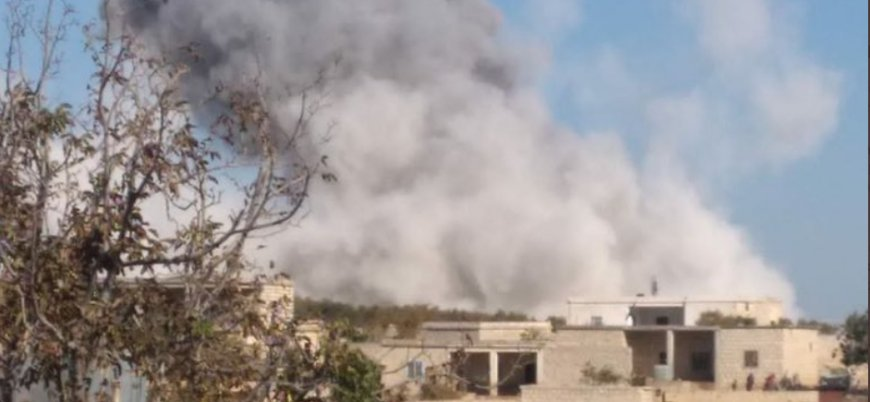 Türkiye sessiz: Rusya Afrin ve İdlib çevresini yoğun şekilde bombalıyor