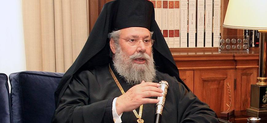 Kıbrıs Rumlarının dini lideri: Türkler bizimle eşit olamaz