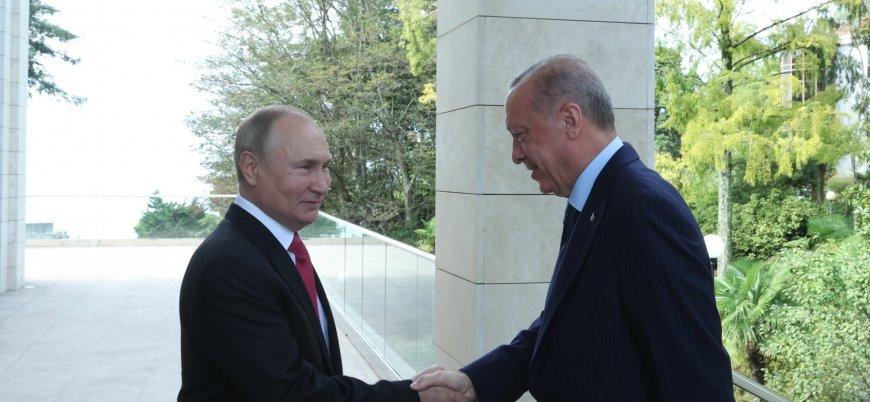 Erdoğan: Putin'le verimli bir görüşme gerçekleştirdik