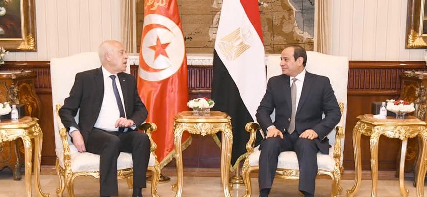 Mısır, Tunus'ta 'siyasi darbe' sürecinden memnun