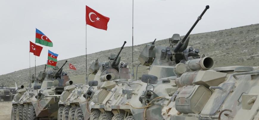 Türkiye ve Azerbaycan'dan Nahcivan'da ortak askeri tatbikat