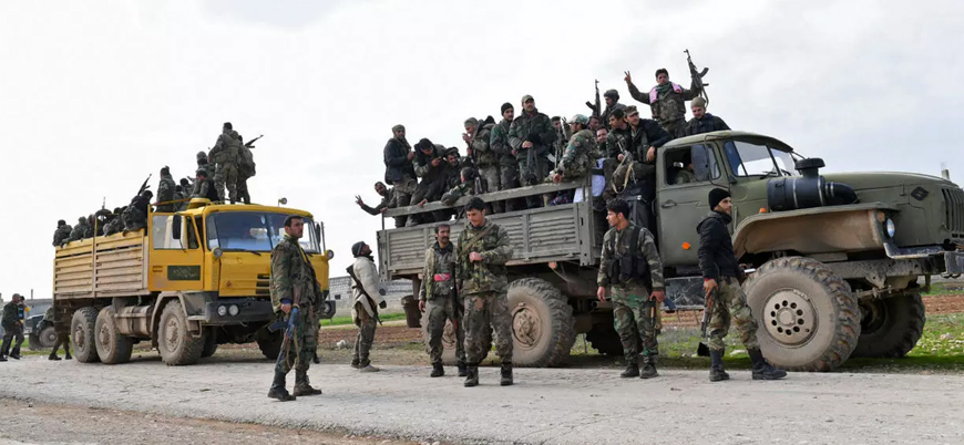 Rusya ve İran destekli Esed rejimi İdlib'e askeri sevkiyatları yoğunlaştırdı