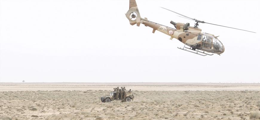Tunus'ta askeri helikopter düştü: 3 ölü