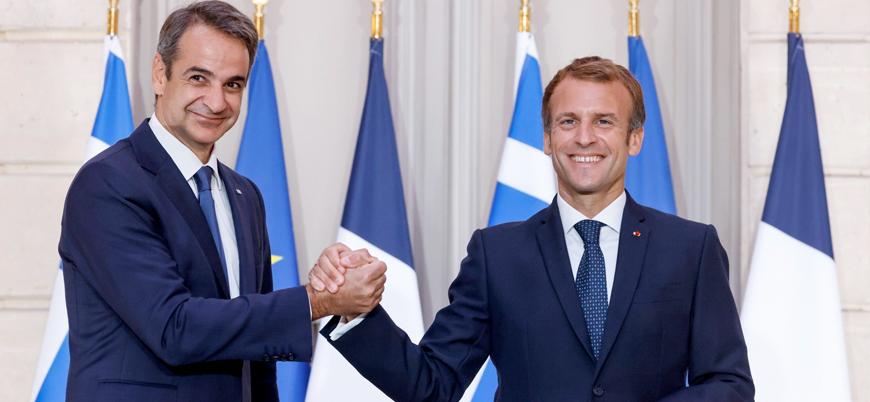 Yunanistan'dan Türkiye'ye karşı Fransa ile savunma mutabakatı