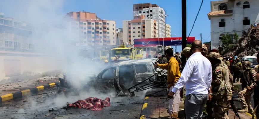 Yemen'de Aden valisinin konvoyuna bombalı saldırı