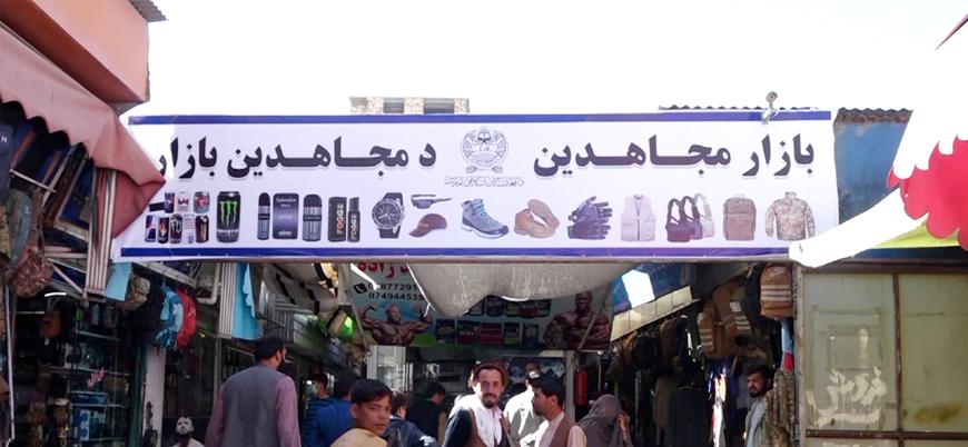 Afganistan: Ünlü 'Bush Çarşısı'nın ismi 'Mücahitler Çarşısı' oldu