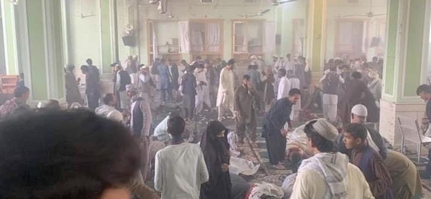 Afganistan'ın güneyinde ibadethaneye bombalı saldırı