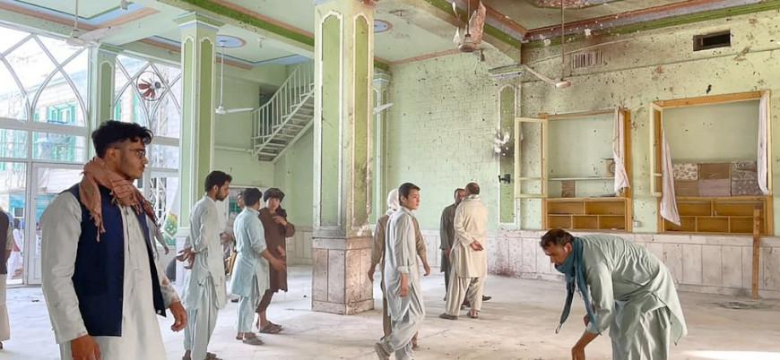 Afganistan'da camiye yönelik canlı bomba saldırısını IŞİD üstlendi