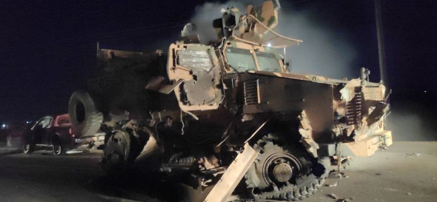 İdlib'de TSK konvoyuna bombalı araç saldırısı