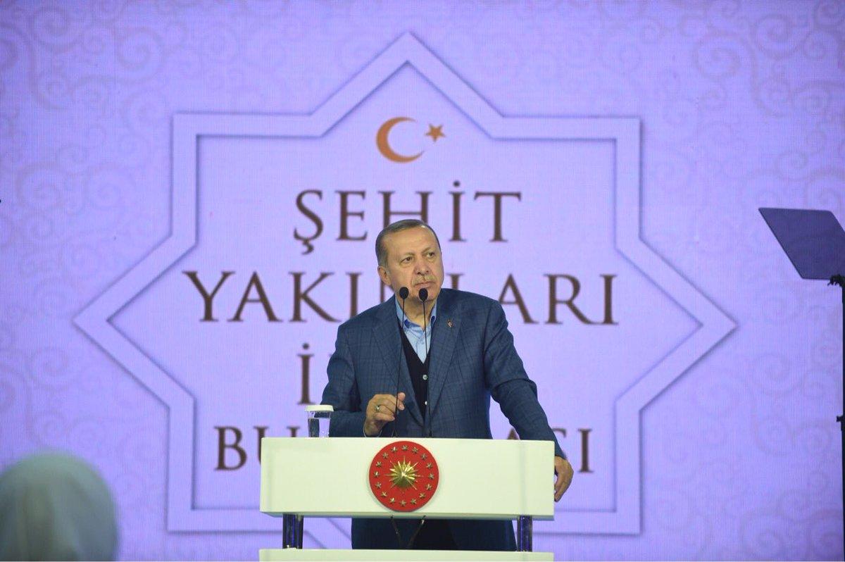 Erdoğan: 15 Temmuz'un tekrarına izin vermeyeceğiz