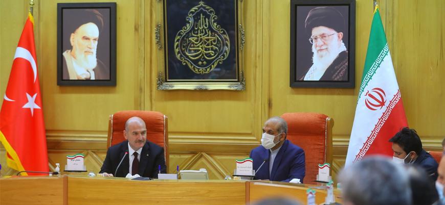 İçişleri Bakanı Soylu'dan İran'a ziyaret