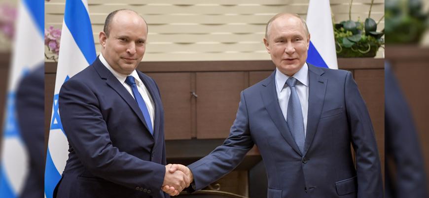 Putin: Rusya ve İsrail'in terörle mücadelede örtüşen noktaları var