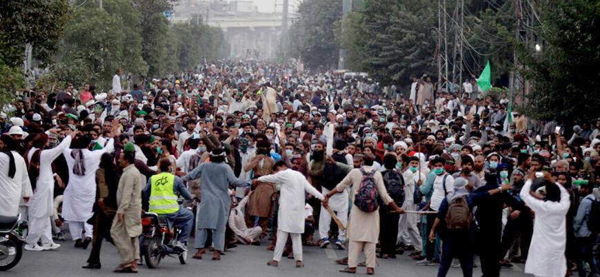 Pakistan'da Tahrik-i Lebbeyk protestoları yeniden patlak verdi
