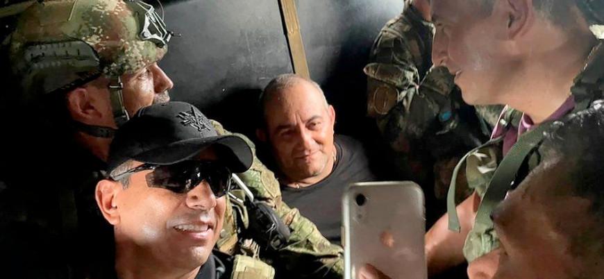 Kolombiya'nın meşhur uyuşturucu baronu 'Otoniel' yakalandı