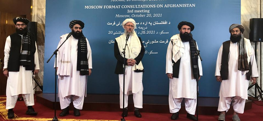 """Rusya Taliban'ı """"terör örgütleri"""" listesinden çıkarmaya hazırlanıyor"""