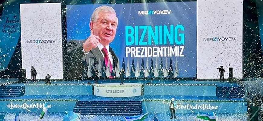 Özbekistan'da seçimin galibi Mirziyoyev