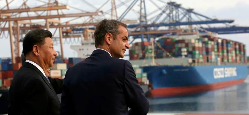 Çin, Avrupa ve Akdeniz'in stratejik öneme sahip Pire Limanı'nı ele geçirdi