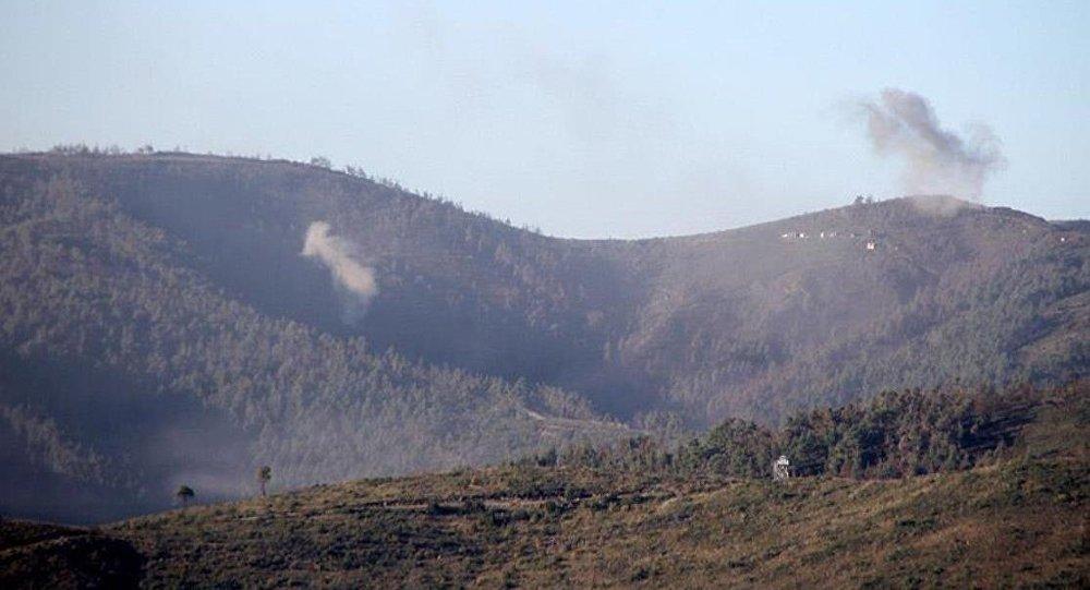 Suriye rejiminden Türkmendağı'na top atışı