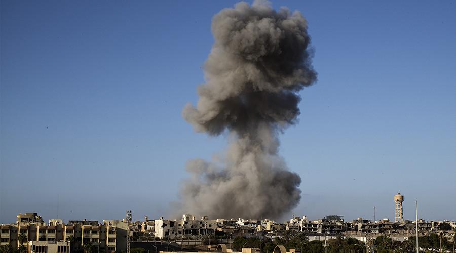 Sisi'den sonra Hafter de Derne'yi vurdu