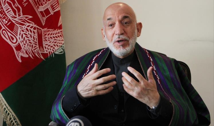 Karzai: ABD, IŞİD'in güçlenmesine katkıda bulunuyor