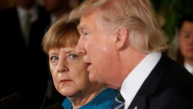 Merkel Trump'ı yalnızlaştırmaya mı çalışıyor?