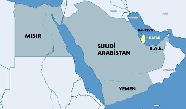 Bahreyn ve BAE'den Katarlılara 'yardım' kararı