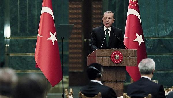 Erdoğan: Amerika'nın Hans'ı ile George'u ile mi kendimi koruyacağım?