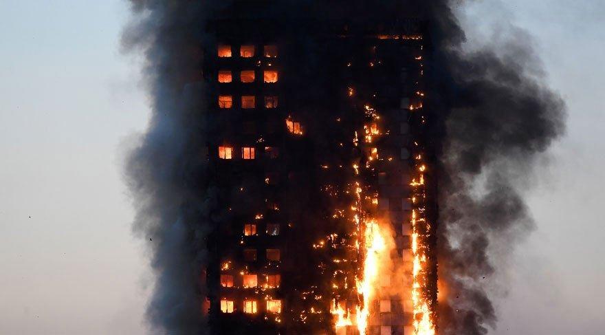 Londra'daki yangında ölü sayısı 79'a yükseldi