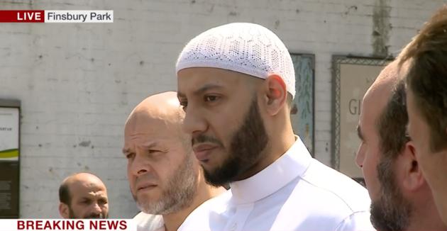İngiltere Londra saldırısında sembolleşen imamı konuşuyor