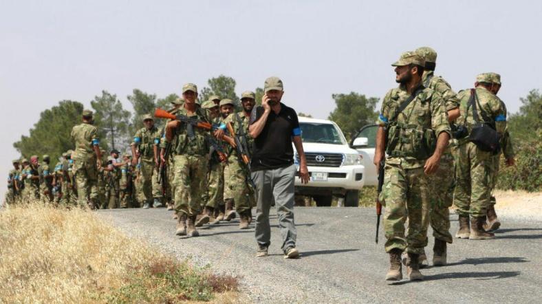 Fırat Kalkanı güçleri Tel Rıfat'a operasyona hazırlanıyor
