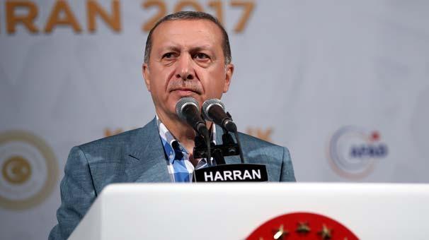 Erdoğan: Fırat Kalkanı'nda ne yaptıysak aynısını yapacağız