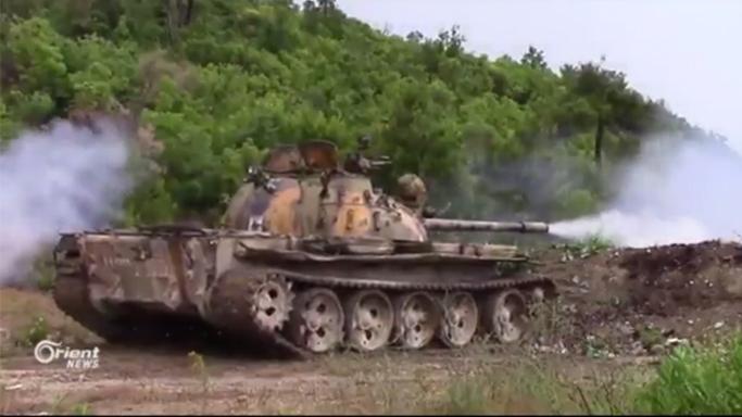 Lazkiye'de savaş sürüyor: Rejim güçleri Türkmen Dağı'nda tank ve ağır silahlarla hedef alındı