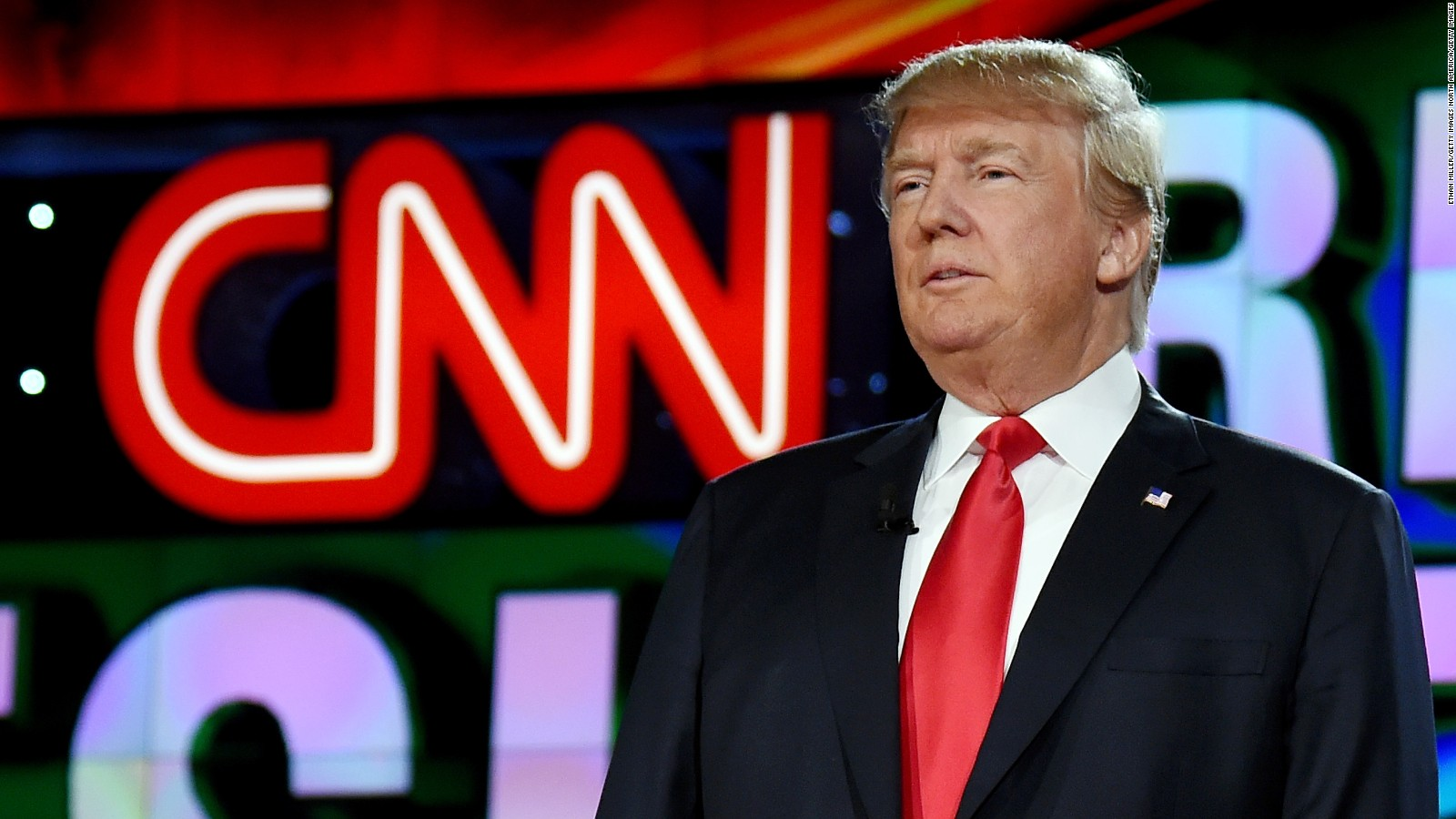 Trump CNN'i dövdü
